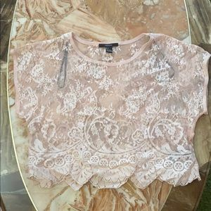 💞💞Forever 21 Lace Top